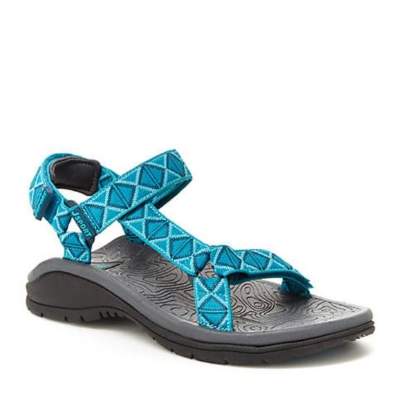 29f139efe4bc89 Jambu Navajo Water Ready Sandals 9 Turquoise New